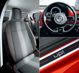 ドライブの気分をさらに高める 専用デザインファブリックシート