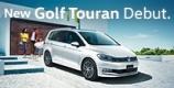 New Golf Touran Debut.