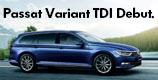 Passat Variant TSI / TDI Debut.