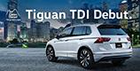コンパクトSUV Tiguan TDI 4MOTION 発売