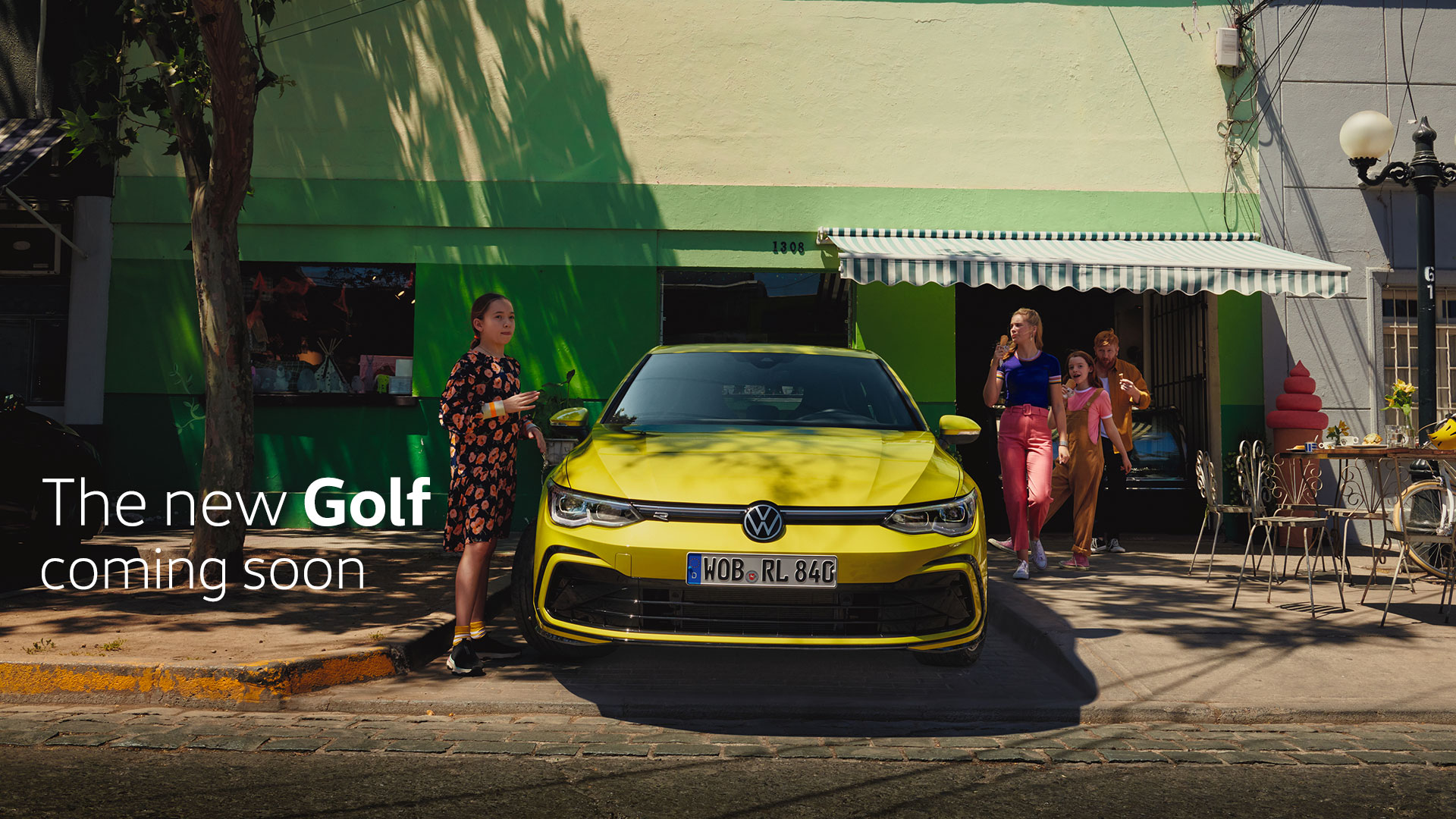 The new Golf
