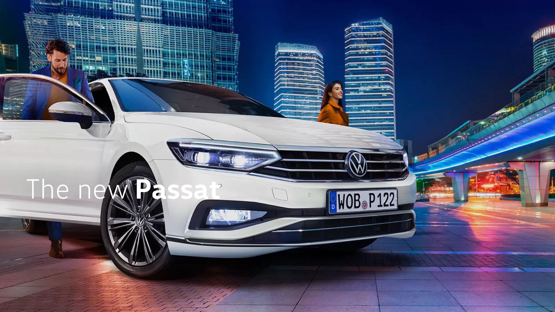 The new Passat
