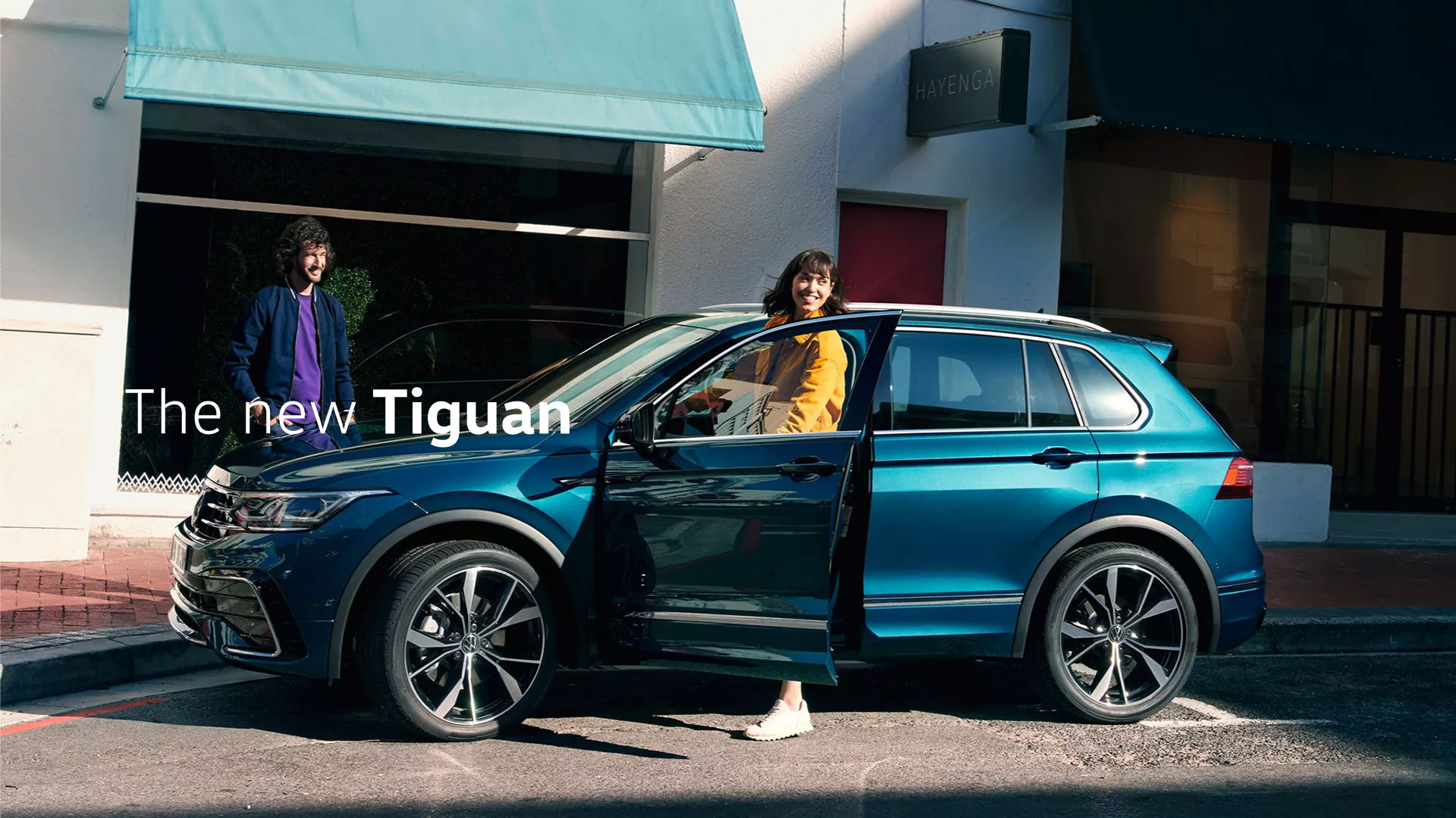 The new Tiguan